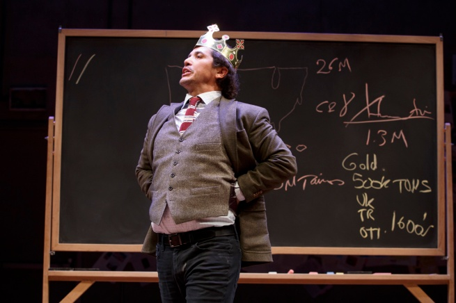 Photo 1 John Leguizamo in Latin History for Morons - Photo Credit Joan Marcus