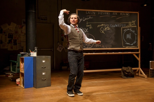 Photo 2 - John Leguizamo in Latin History for Morons - Photo Credit Joan Marcus