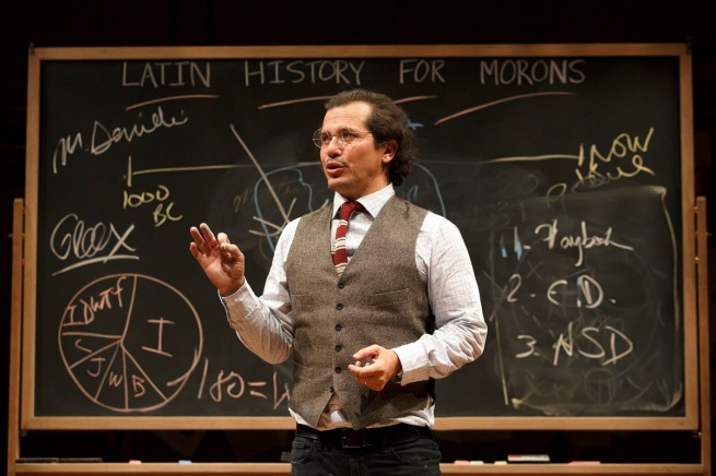 Photo 3 - John Leguizamo in Latin History for Morons - Photo Credit Joan Marcus
